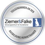 Logo Hundetrainerausbildung von Ziemer-Falke