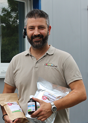 Juniorchef und Geschäftsführer Carsten Bäumker der 4Pfotenland GmbH