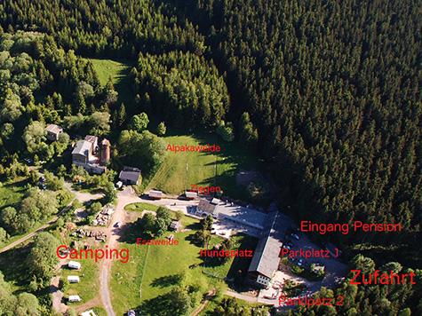 Luftaufnahme Standort Crottendorf