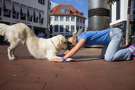 Fit&Trick-Fitness für Mensch und Hund: ein Workshop mit Simone Isenburg