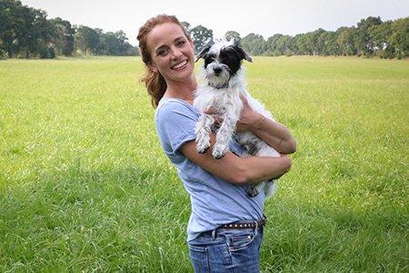Kate Kitchenham mit Hund Knox: Wie Hunde lernen