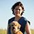 Profilbild von Alexandra Hansch und ihrem Hund