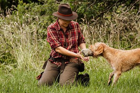 Typgerechte Auslastung für jagdlich motivierte Hunde mit Nicole Lützenkirchen
