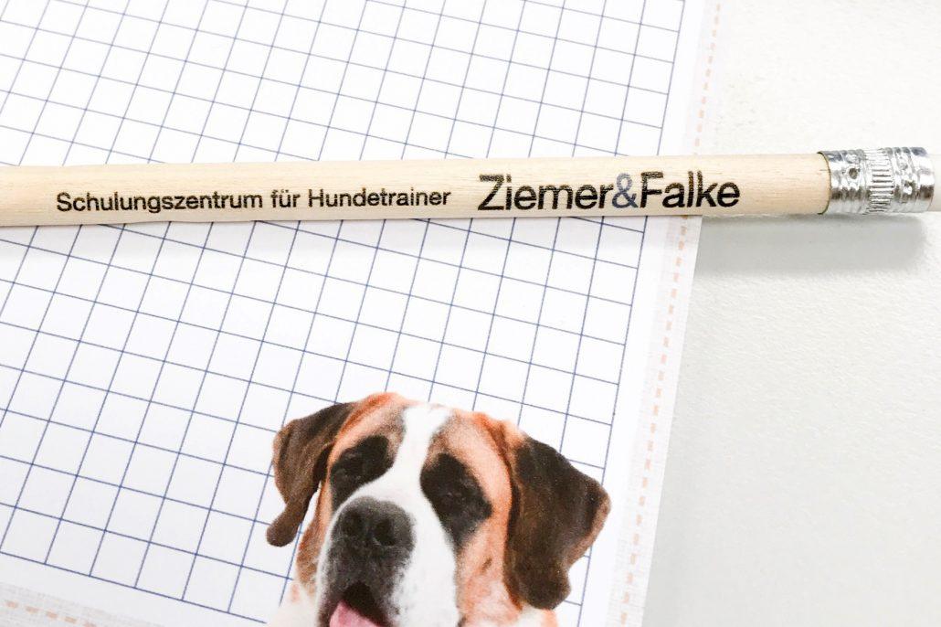 Verhaltensberater Notizblock und Bleistift Merchandise