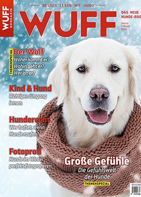 Cover der WUFF-Ausgabe 1-2019 (Bookazin)