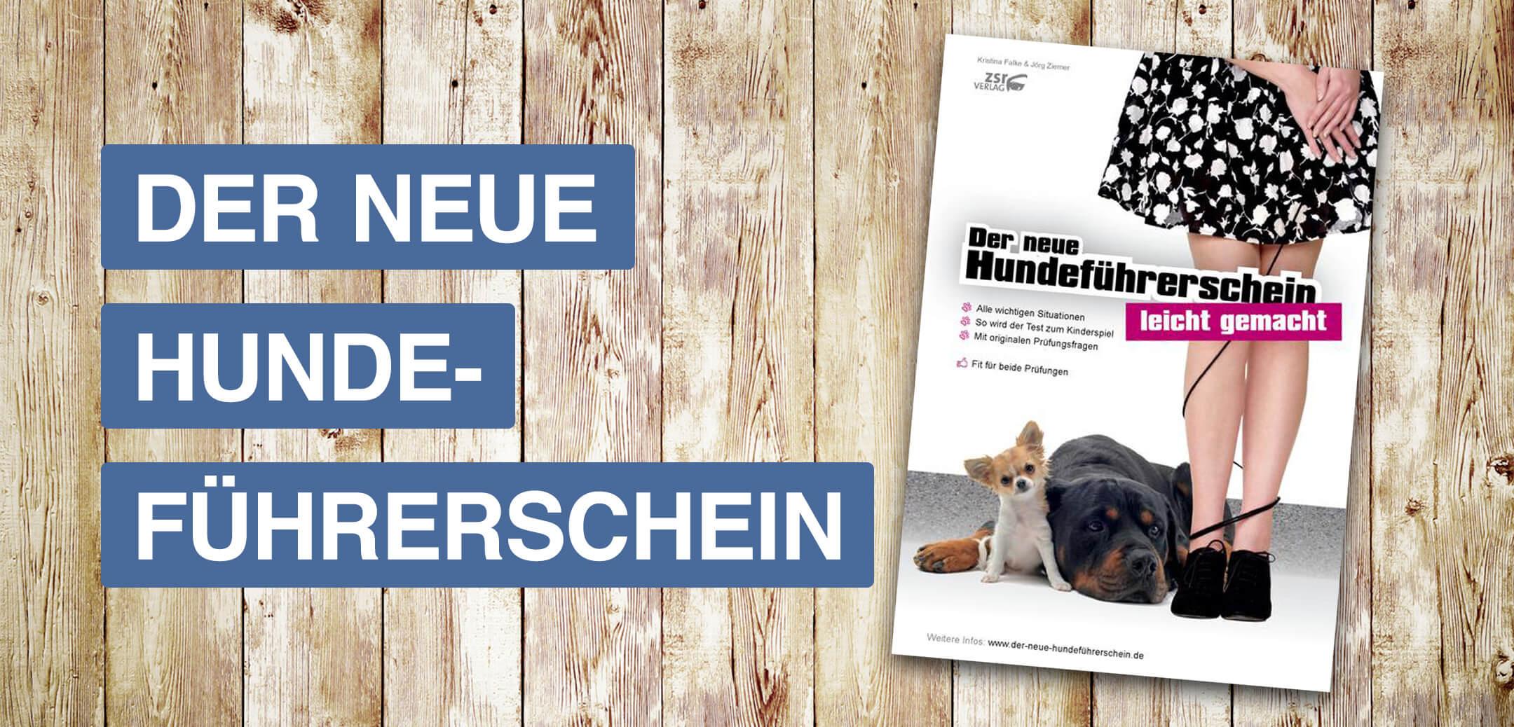 der neue Hundeführerschein - ein Buch von Ziemer & Falke