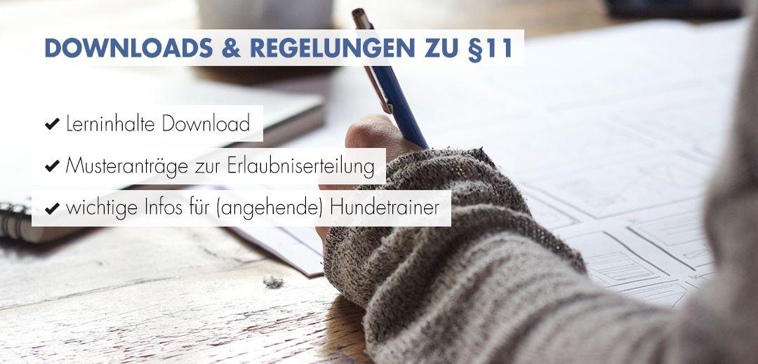 Downloads und Regelungen zu §11