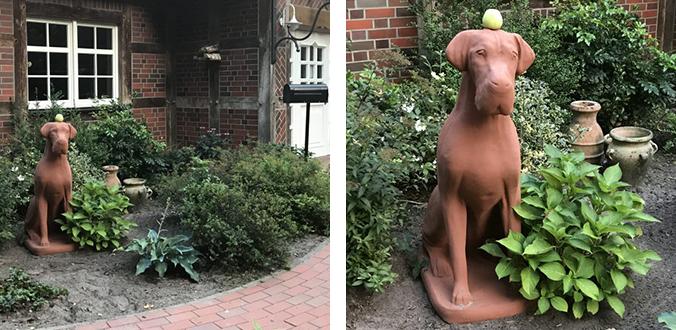 Ein neuer Hund zeiht bei Ziemer & Falke ein