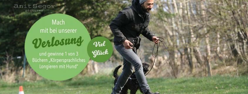 Sami el Ayachi beim körpersprachlichen Longieren mit Hund