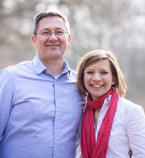 Kristina Ziemer-Falke und Jörg Ziemer