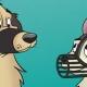 Maulkorbtraining - 2 Hunde mit Maulkorb