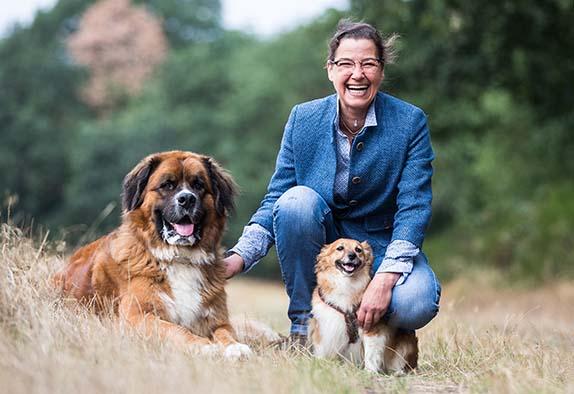 Hundetrainerin Claudia