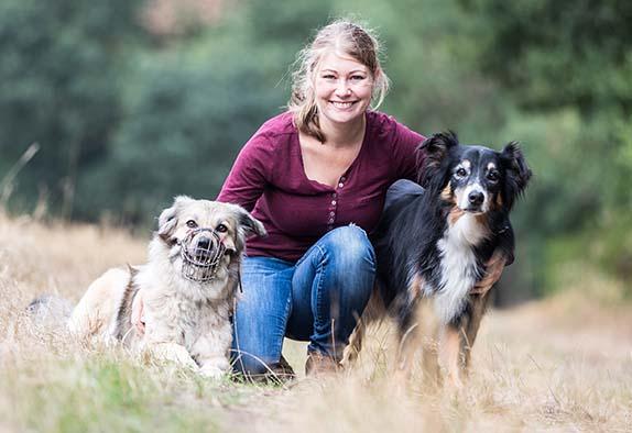 Hundetrainerin Denise