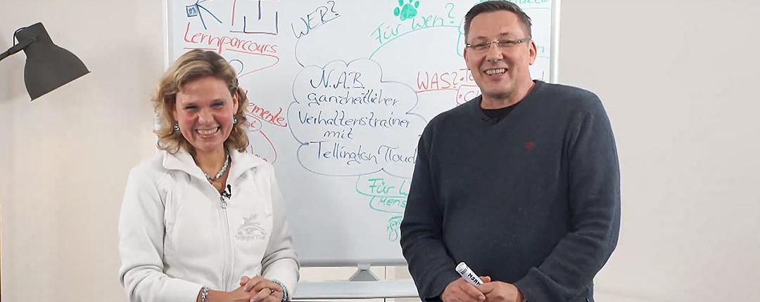 Jörg Ziemer und Karin Petra Freiling erklären live die Weiterbildung N.A.B.
