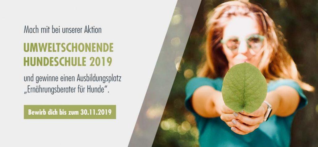 Hundeschule und Nachhaltigkeit - Aktion 2019