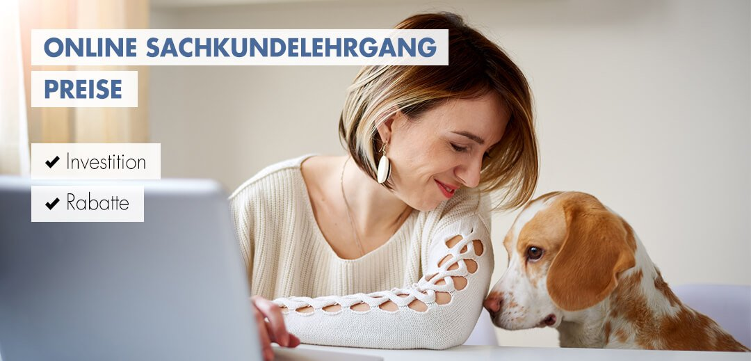 Online-Sachkundelehrgang Preisinformationen
