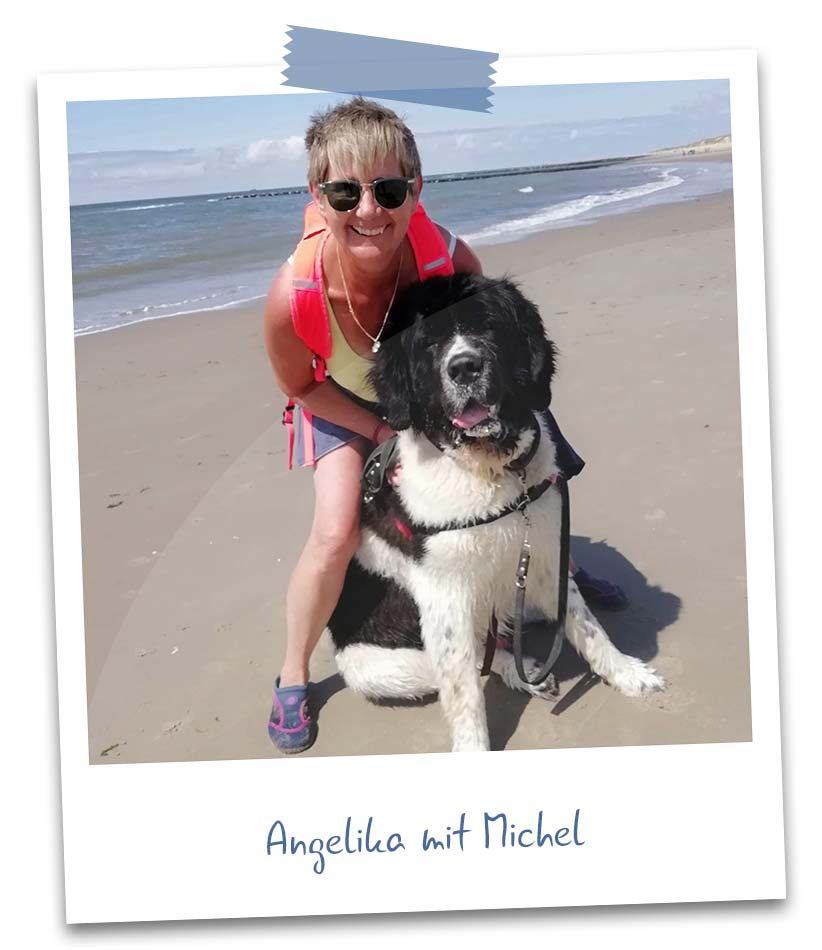 Angelika mit Michel