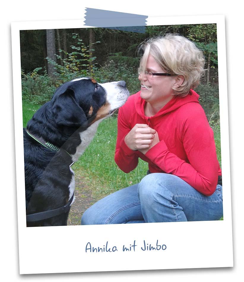 Annika mit Jimbo