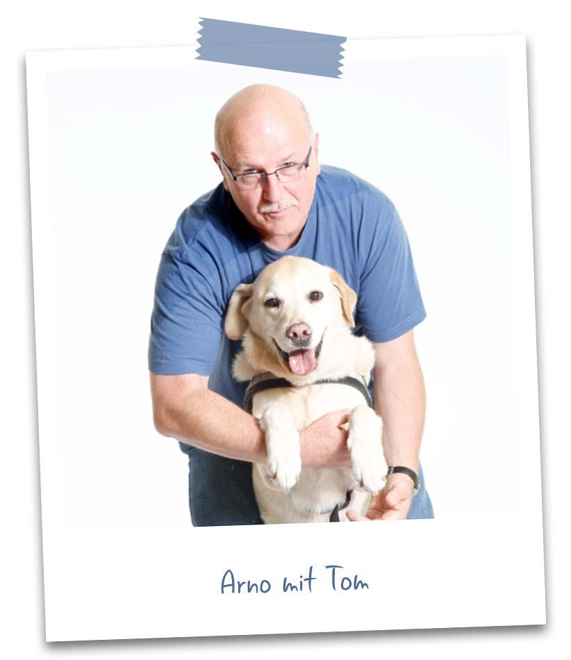 Arno mit Tom