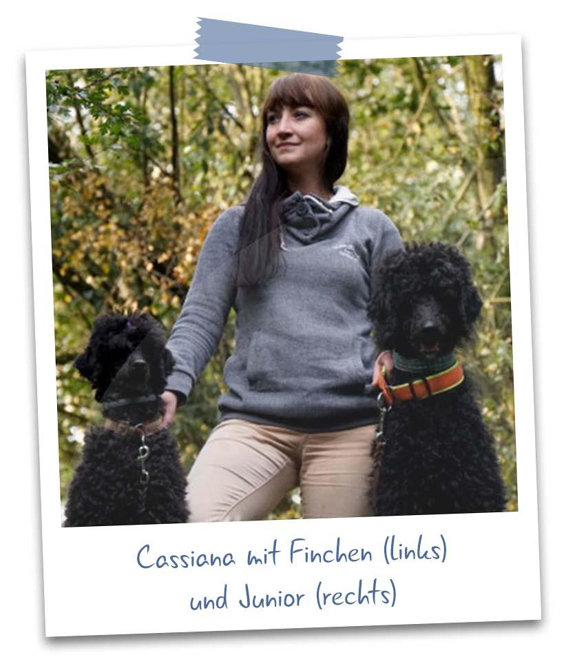 Cassiana mit Finchen und Junior
