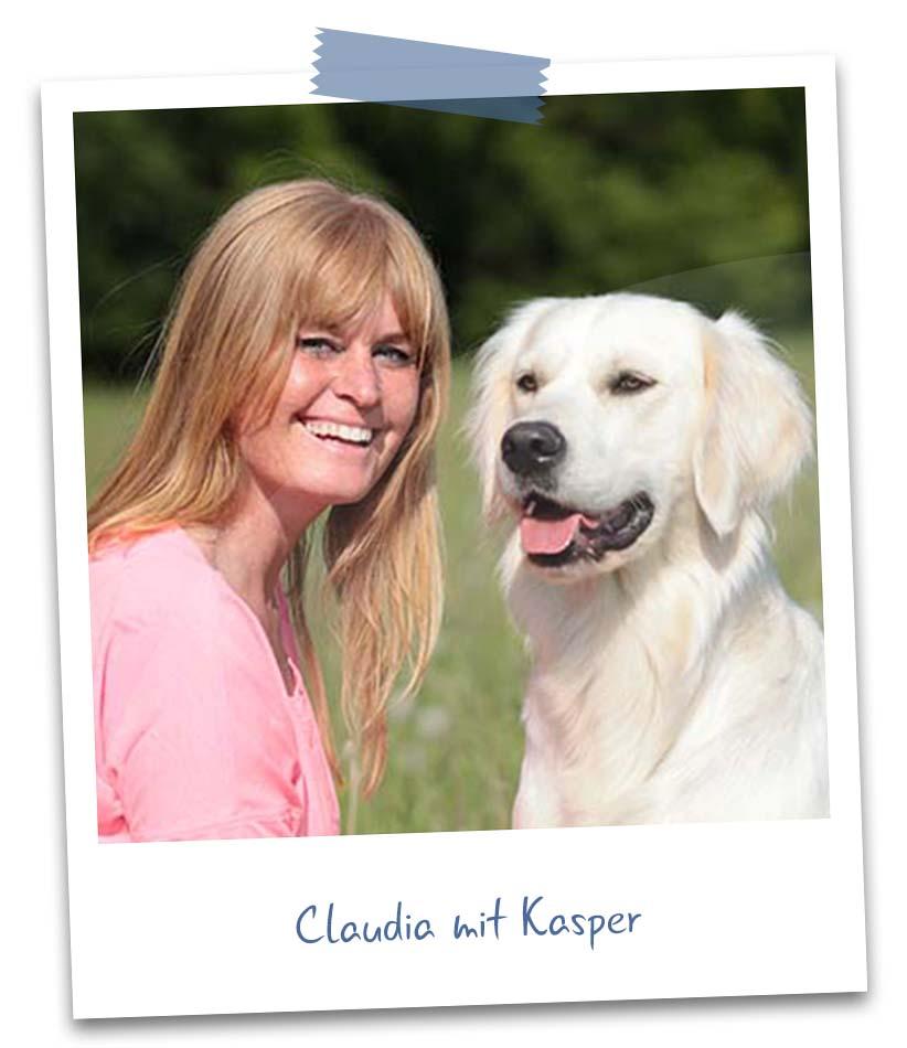 Claudia mit Kasper