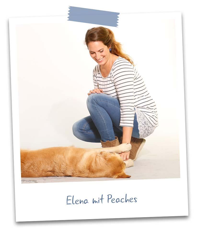 Elena mit Peaches