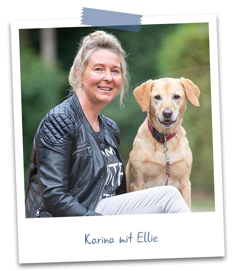 Karina mit Ellie
