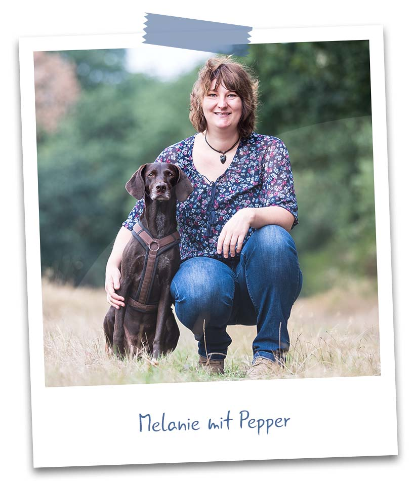 Melanie mit Pepper