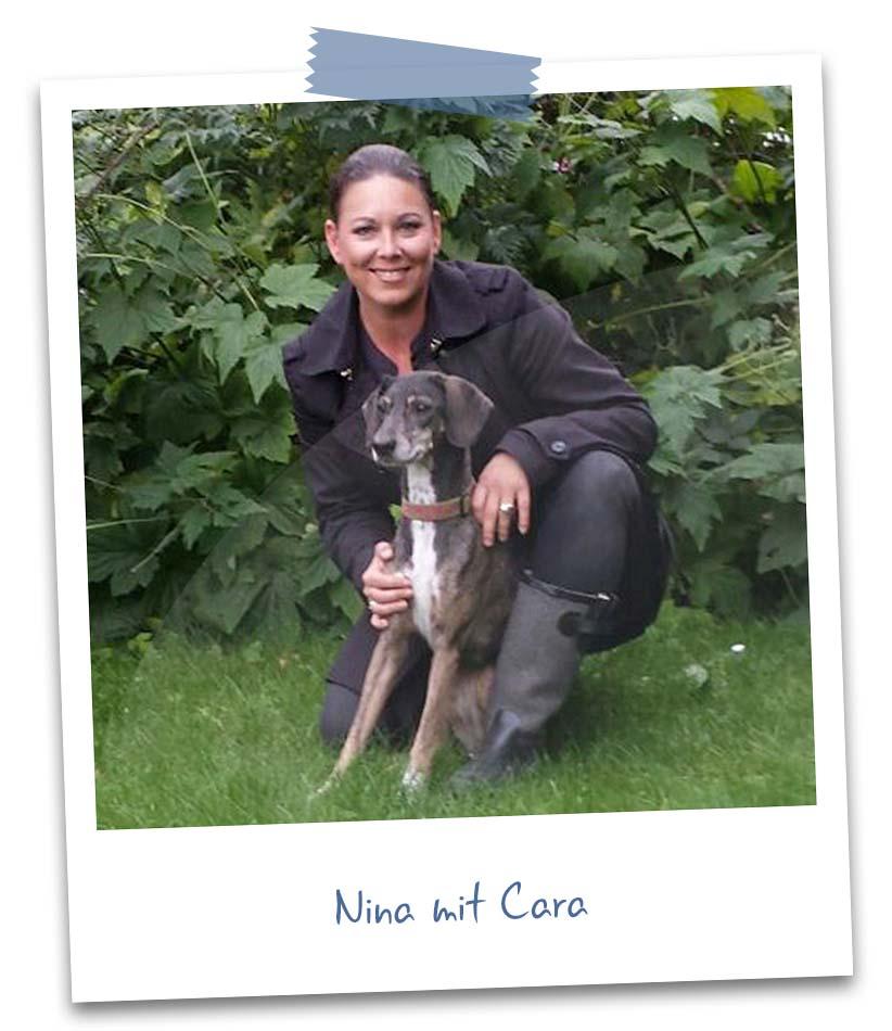 Nina mit Cara