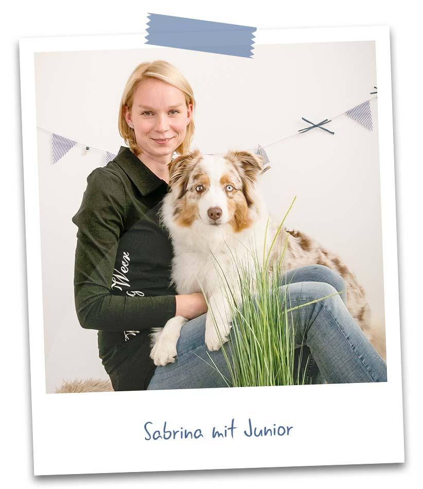 Sabrina mit Junior