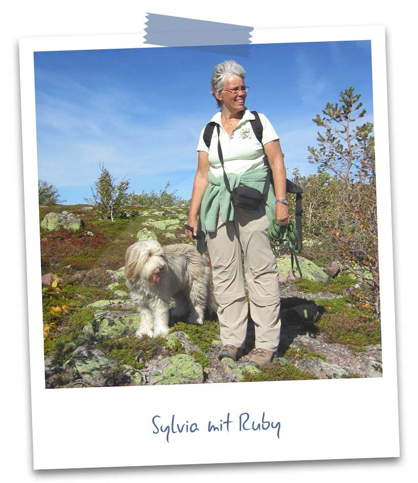 Sylvia mit Ruby