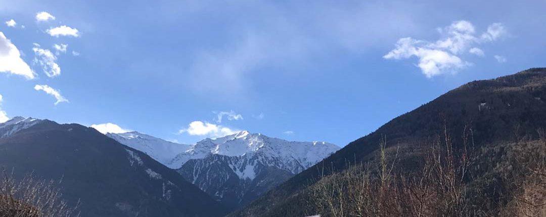 Bergkette in Südtirol