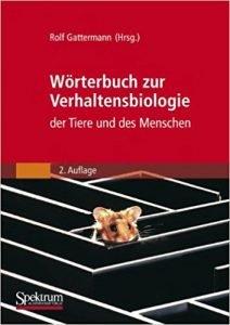Wörterbuch zur Verhaltensbiologie Buchcover